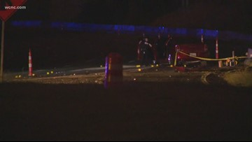 Shooting on I-77 NB causes four-vehicle accident; one person seriously injured