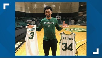 Faith, family and basketball: 49ers freshman follows in father's footsteps