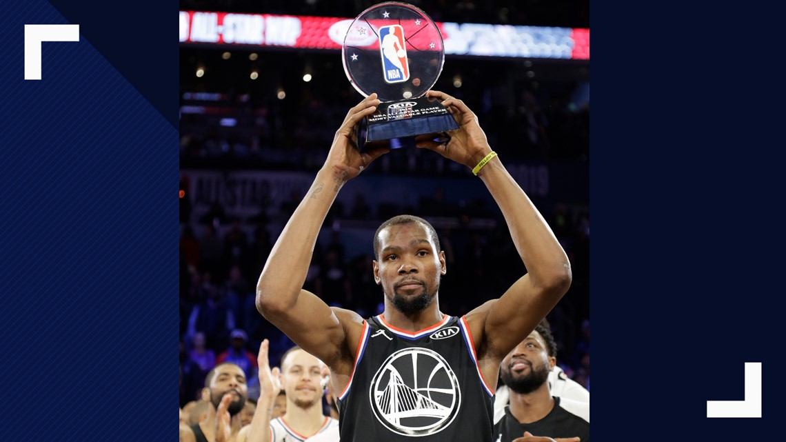 a09104a1471f Team LeBron s Kevin Durant