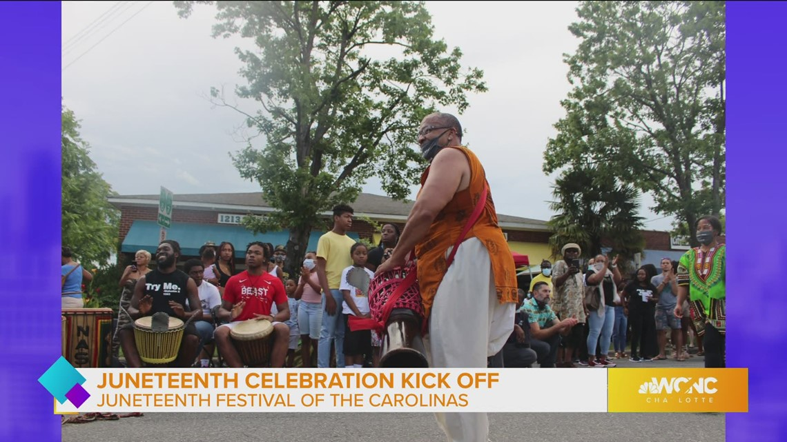 Join the celebration at the Juneteenth Festival of the Carolinas