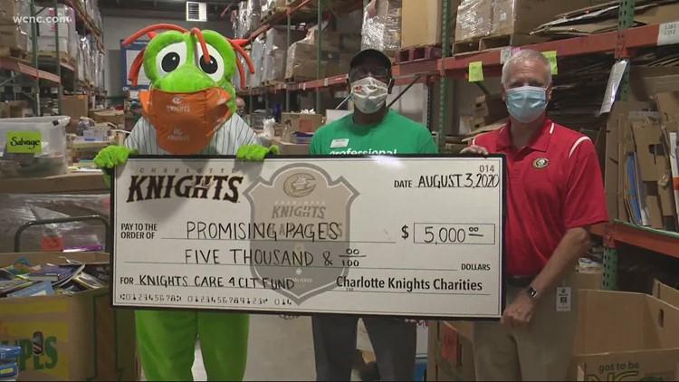 Charlotte Knights kick off 'Week of Giving' in big way
