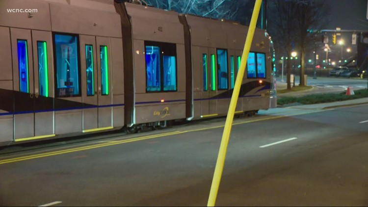 Gold Line street cars now being tested in uptown Charlotte