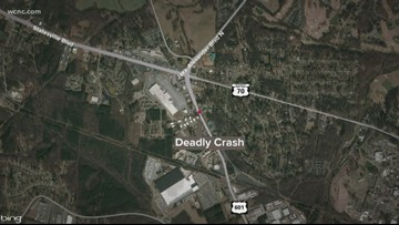 One dead after accident involving four vehicles and a motorcycle