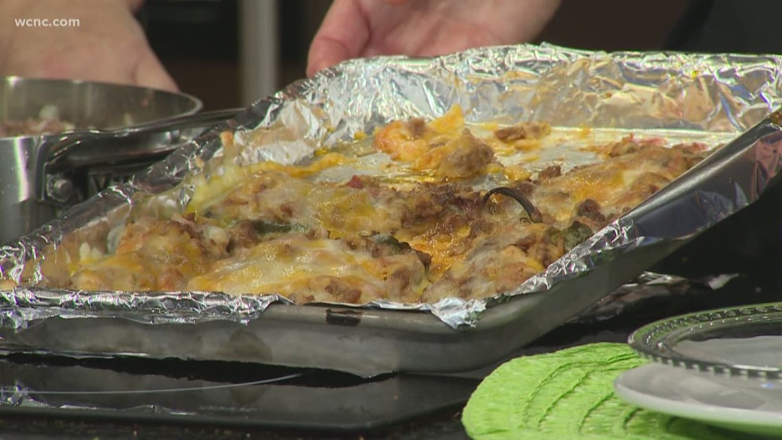 Recipe: Stuffed poblano peppers
