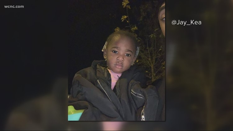 Man finds child wandering in Charlotte's University area