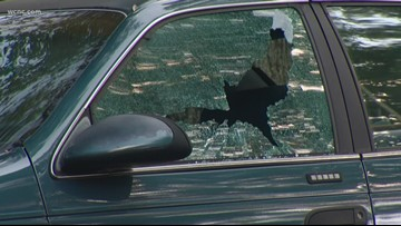 Suspected vandal targets dozens of parked cars in Dilworth