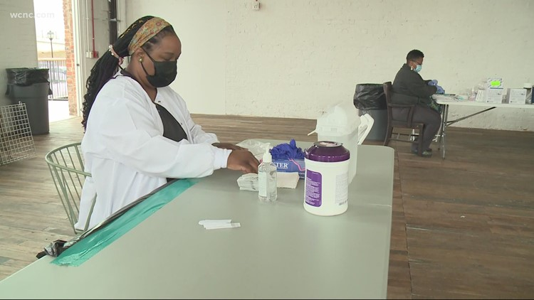 Optimist Hall gives vaccine clinic to its employees