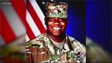NC soldier dies in rollover accident in Syria