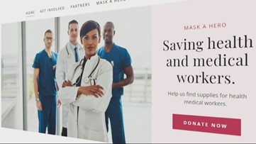 Charlotte doctor starts 'mask a hero' nonprofit to ensure healthcare workers have the equipment they need