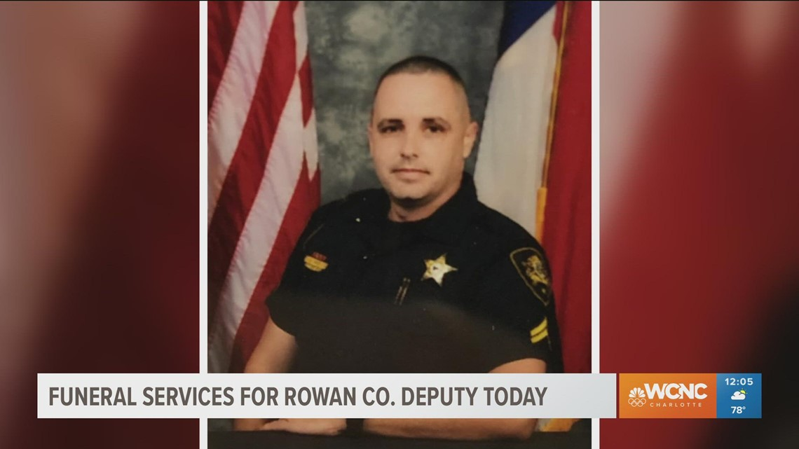 Rowan County deputy will be laid to rest Thursday