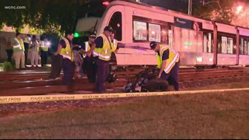 1 person rushed to hospital after train hits ATV on light rail in South End