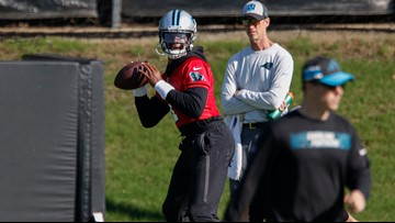 Panthers QB coach: Cam Newton 'fully committed' to new passing mechanics after surgery