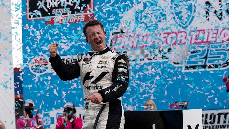 AJ Allmendinger remains perfect on The Roval with 3rd win