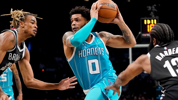 Charlotte defeats Brooklyn 111-95 for 3-0 start to the season