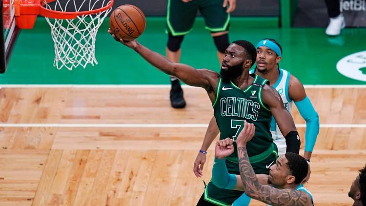 Celtics rebound behind Brown, Tatum, beat Hornets 120-111