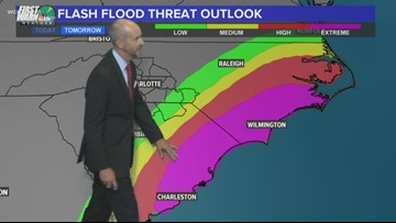Wednesday 6 p.m. weather forecast