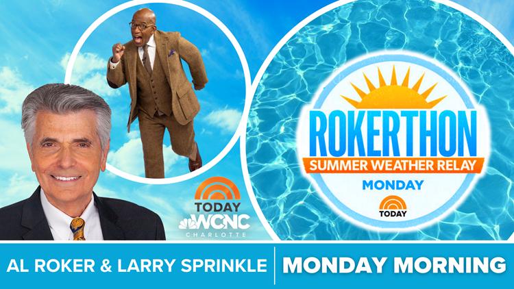 Larry Sprinkle helps TODAY's Al Roker break world record