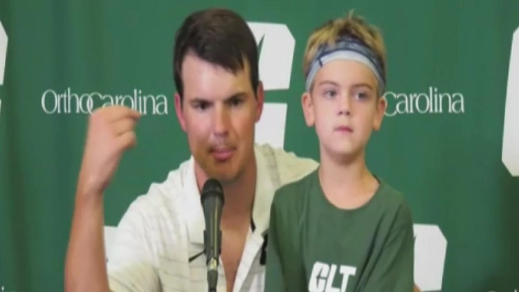 Will Healy discusses Charlotte 49ers' big win over Duke