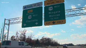 Monroe Expressway expected to ease holiday travel in Union County