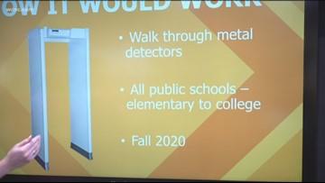 South Carolina bill would require metal detectors in schools