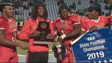 High school football state championship results
