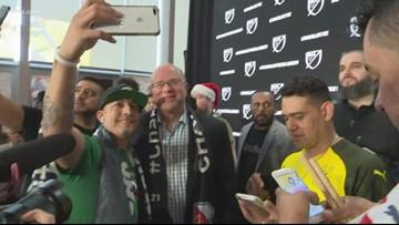 Soccer fans excited for Charlotte's MLS team
