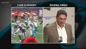 Newton will have surgery; players react to Rivera's firing
