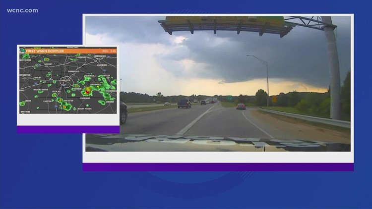 Storm Tracker: Monitoring highways as rain moves through the area