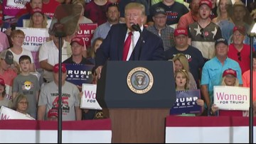 Trump in 2020, set to make history in CLT