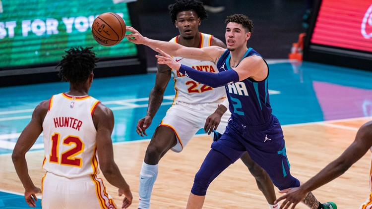 Hornets hope LaMelo Ball keeps the focus on passing in his second NBA season