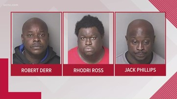 3 arrested in human trafficking case