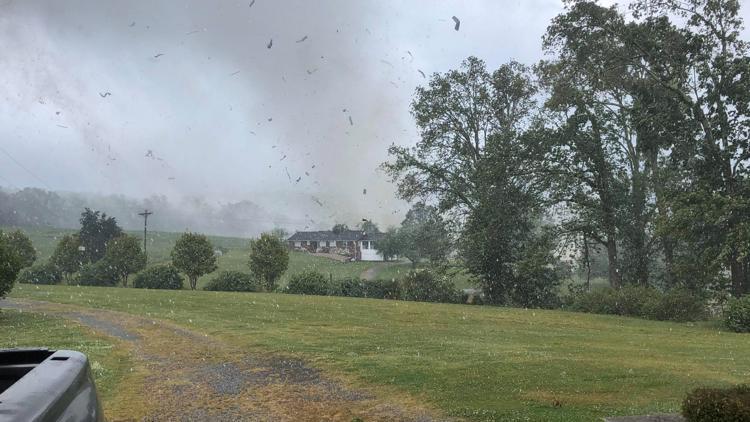 National Weather Service confirms EF-1 tornado hit York, SC farm