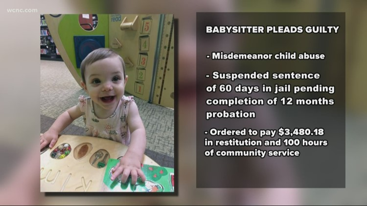 Babysitter pleads guilty to child abuse, mom says goal is to 'stop her from being a nanny again'