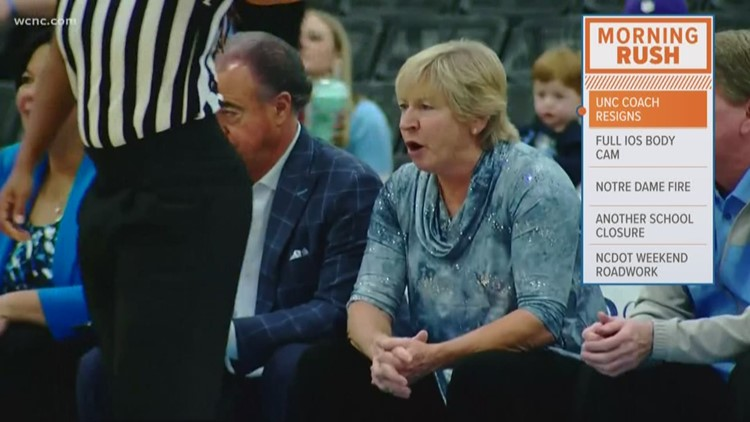 UNC women's basketball coach Sylvia Hatchell resigns