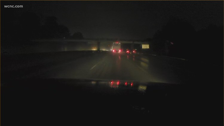 Drivers urged to be cautious during early morning rain showers Wednesday