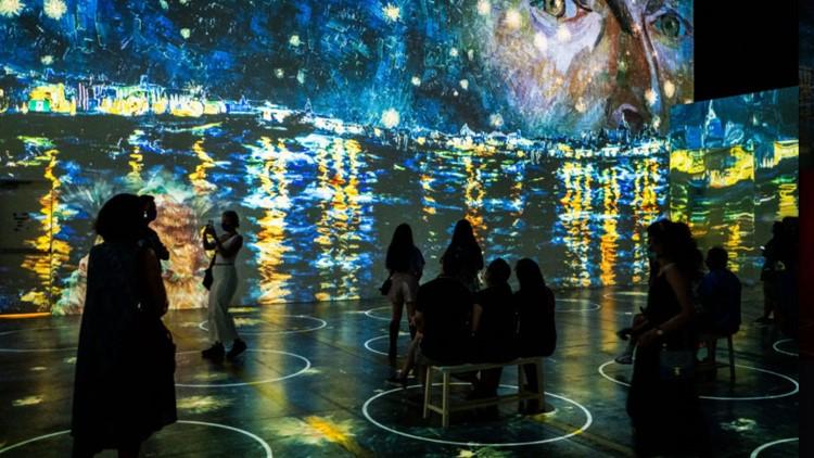 Immersive Van Gogh exhibit opens Thursday