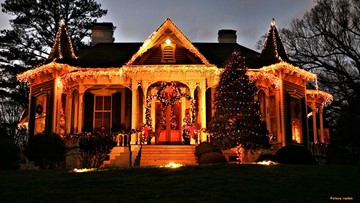 The best Christmas light displays in the Charlotte area for 2019