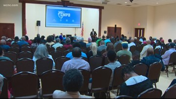 CMPD Chief calls for community meetings following release of body-cam video