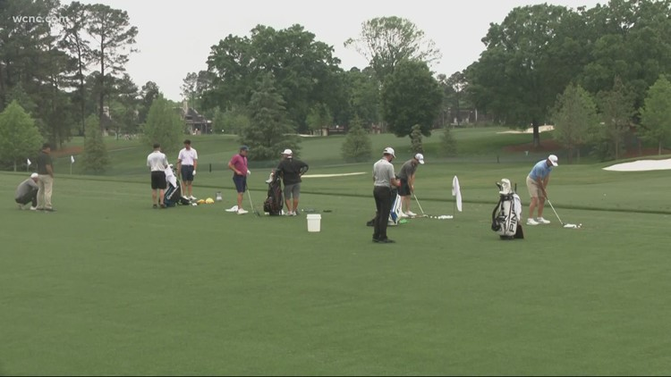 Practice rounds for Wells Fargo Championship kick off