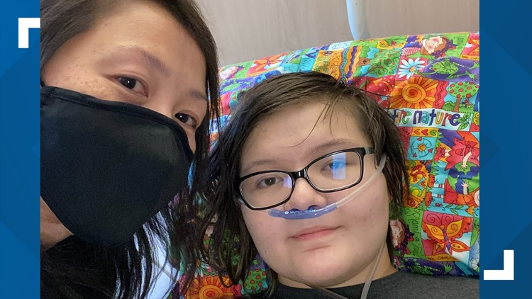 'She's perfectly healthy, yet something as dangerous as COVID still got to her' | Caldwell County teen on road to recovery after catching COVID-19