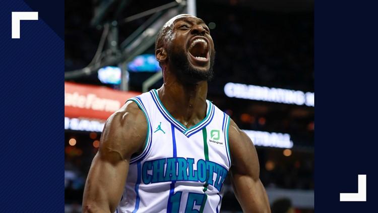 Walker sparks late rally, Hornets beat Boston 124-117