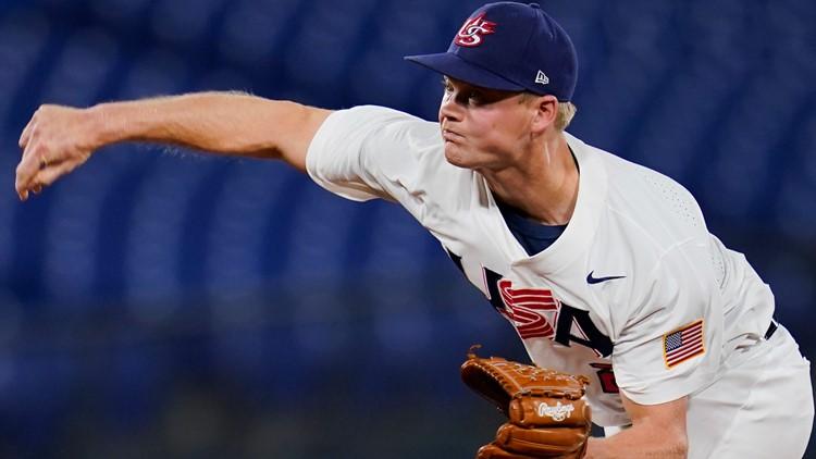 US baseball team defeats South Korea to reach gold medal game