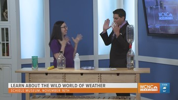 Learn about the wild world of weather at Scheile Museum Nov. 16