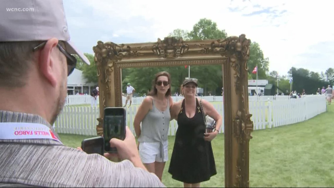 Big crowds at Quail Hollow for Wells Fargo Championship