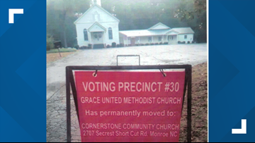 """""""No action taken"""" on Bishop request for extended voting time in Union County"""