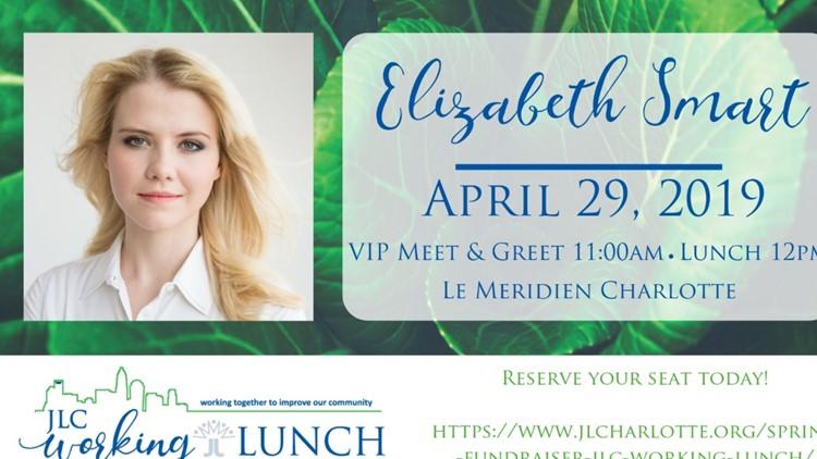 Elizabeth Smart set to speak at Junior League luncheon in Charlotte