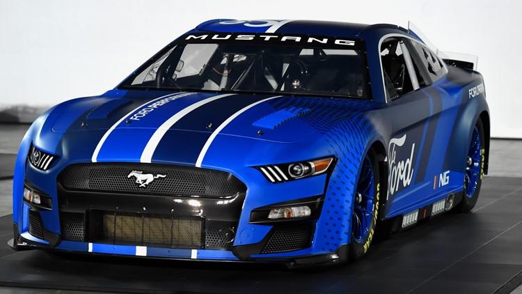 NASCAR drivers test NextGen cars at Charlotte Motor Speedway