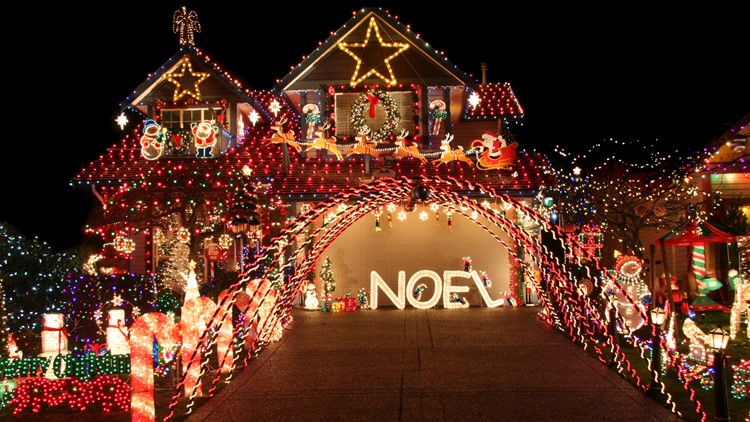Share where the best holiday light displays are in town
