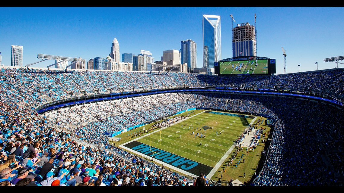 Panthers announced plans to upgrade Bank of America Stadium, build practice bubble