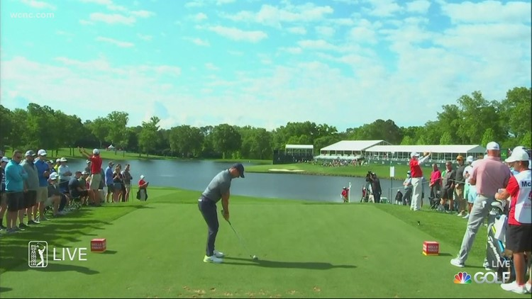Wells-Fargo Championship wraps up day one at Quail Hollow Country Club